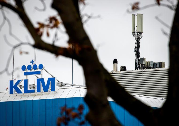 Het hoofdkantoor van KLM. Beeld Hollandse Hoogte /  ANP