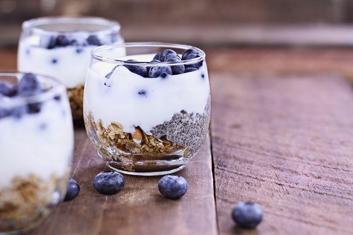 Kefir is een van de producten waar veel probiotica in zitten.