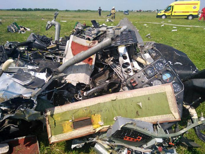 Het ongeval gebeurde in de regio Kemerovo tijdens een trainingsvlucht van een amateurvereniging.