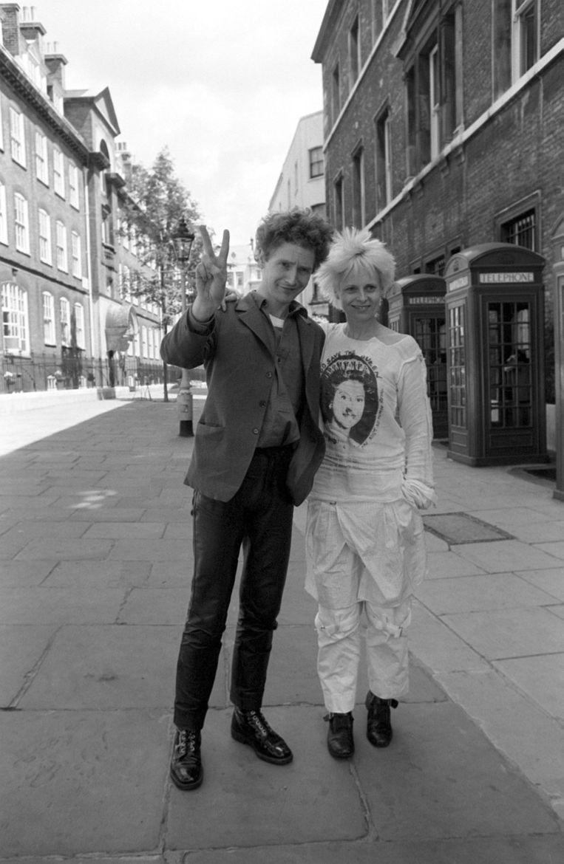 Westwood met Malcolm McLaren, 1977. Beeld HH