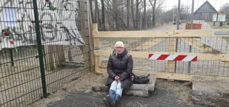 Vrouw gewond geraakt tijdens paasprotest Oostvaardersplassen