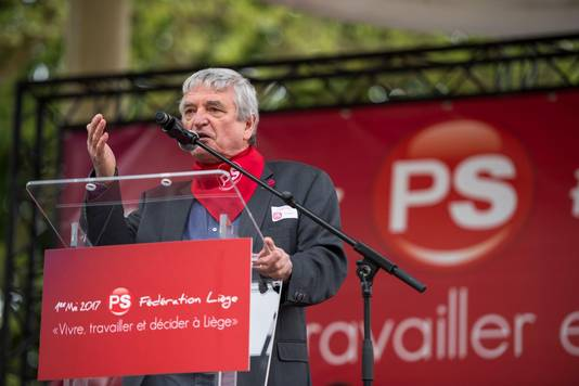 Jean-Pierre Hupkens, président de la Fédération liégeoise du PS
