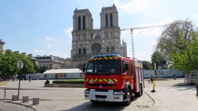Plein voor Notre Dame niet meer toegankelijk voor publiek door loodvervuiling