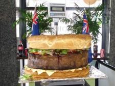 Un hamburger de 90 kg