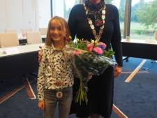 Lisa Ankersmid (10) uit Keijenborg is de nieuwe jeugdburgemeester van Bronckhorst