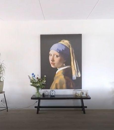 Meisje met de parel verovert Nederlandse huiskamers: 'Niet voor niets een meesterwerk'