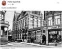 Pieter Spanhak deelt een oude ansichtkaart van het oude postkantoor.