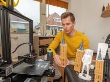 Historische pareltjes van Hasselt komen bij Stefan uit de 3D-printer