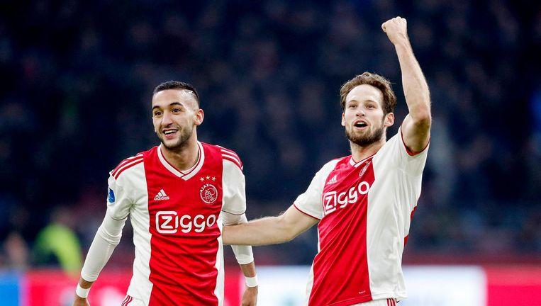 Ajax loopt uit naar een monsterzege tegen De Graafschap Beeld anp
