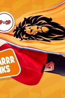 Albert Heijn slaat terug in Oranje-rel: juichcape van Jumbo nu ook in hun reclame