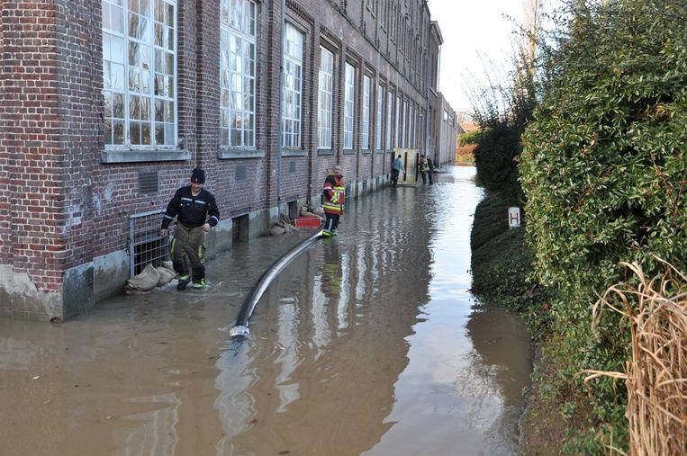 Het college in Melle heeft af te rekenen met wateroverlast.