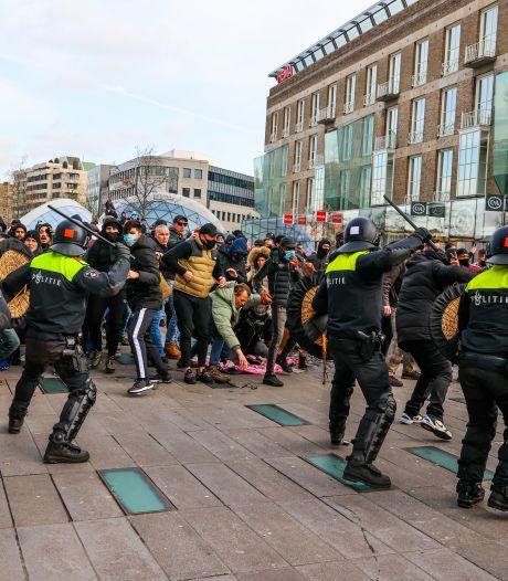 Danny V. die eerder al Pieter Omtzigt bedreigde, opgepakt voor opruiing bij rellen Eindhoven