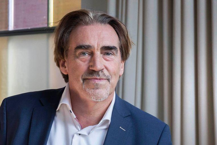 Johan Snel schreef een biografie over Abraham Kuyper: 'Een politicus met weinigen te  vergelijken'. Beeld Werry Crone