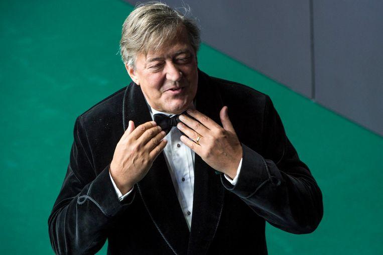 Stephen Fry bezoekt hij Brazilië in deel II van zijn serie uit 2013 over homo-emancipatie Beeld epa