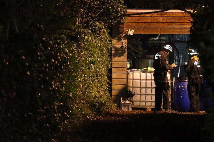 Inactief drugslab gevonden in Zeeland.