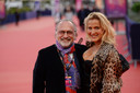 Olivier Dassault met zijn vrouw Natacha Nikolajevic.