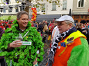 Grote Markt in Breda begint aan de viering van de elfde van de elfde.