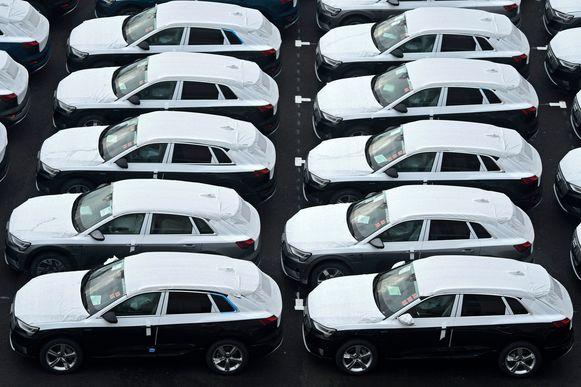 De Audi e-tron, een elektrische SUV-wagen. Foto ter illustratie.