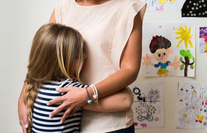 Kinderen kunnen in een loyaliteitsconflict terechtkomen na een scheiding.
