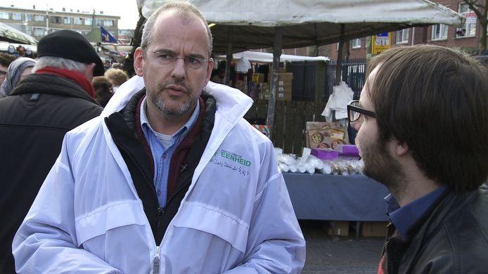 Arnoud van Doorn van de islamitische Partij van de Eenheid.