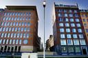 Het hoofdkantoor van Brabant Water rechts aan de Magistratenlaan in Den Bosch