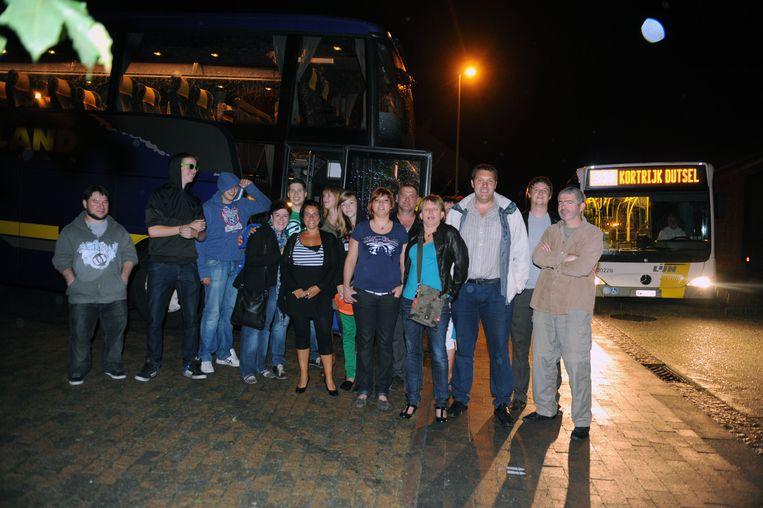 Archiefbeeld feestbus in het Leuvense