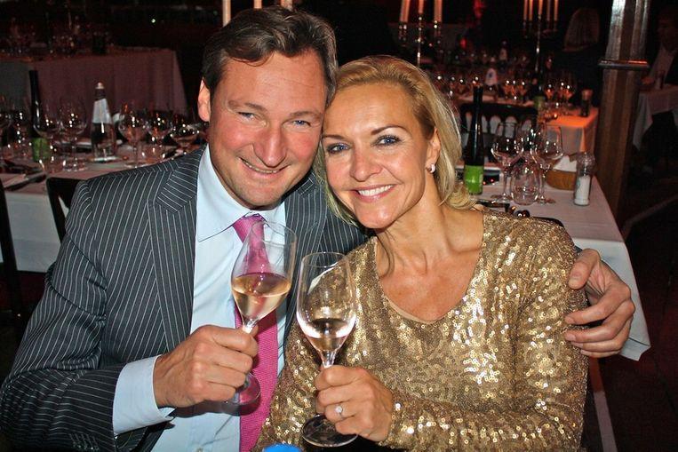 Edgar Peer en Mariska van Kolck komen al in de stemming. <br /><br /> Beeld