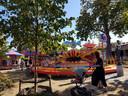 Vertrouwd beeld in het Concordiapark: de vliegtuigjes.