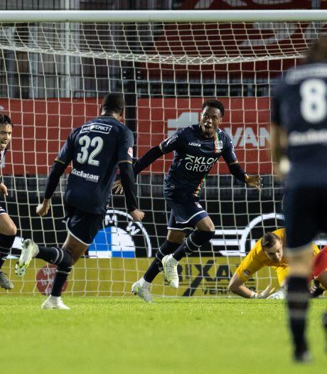NEC vernedert Almere City en voegt zich bij NAC en Roda JC in halve finale