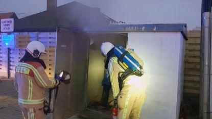 Tientallen huizen zonder stroom na brand in hoogspanningscabine
