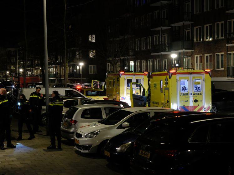 Twee gewonden bij steekpartij in Beeningerstraat