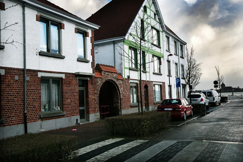 Sociale woningen in Oostende, een van de steden die de Vlaamse streefcijfers al heeft gehaald.