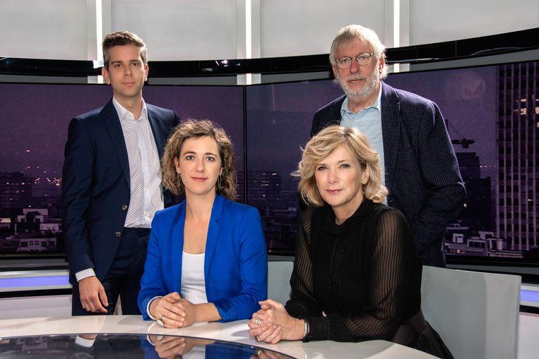 Stijn Wuyts, Gui Polspoel, An Hofman en Lynn Wesenbeek zijn de vier presentatoren van Z-Talk.