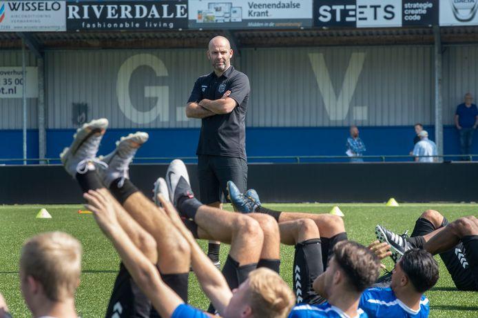 GVVV-trainer Jochem Twisker.