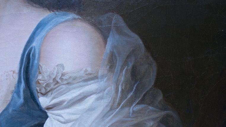 Alexander Roslin: Portret van Anne Vallayer-Coster 1783, olieverf op doek; 73 x 61 cm. Beeld Collectie Galerie Eric Coatalem, Parijs
