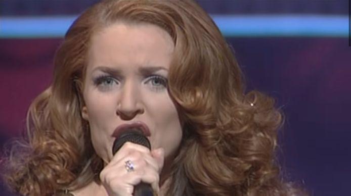 Gina G moest voor Engeland bij het Songfestival van 1996 in Oslo als tweede op, geen fijne plek