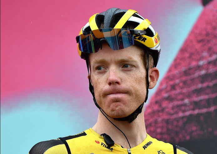 Steven Kruijswijk moest afgelopen jaar afstappen in de Giro vanwege een positieve coronatest.