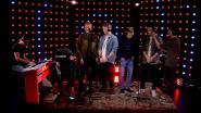 Finalisten van The Band zingen voor het eerst live