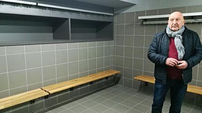 Warandestadion heeft nieuwe kleedkamers