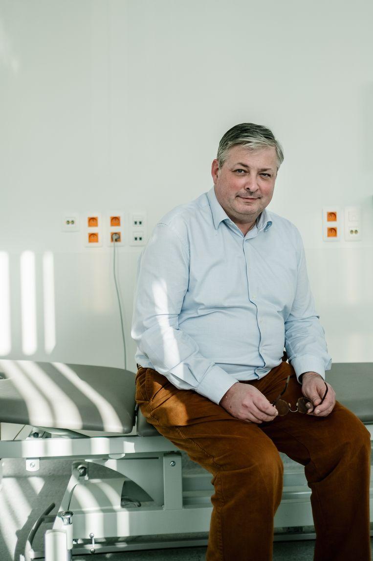 Frank Plasschaert. Beeld Wouter Van Vooren