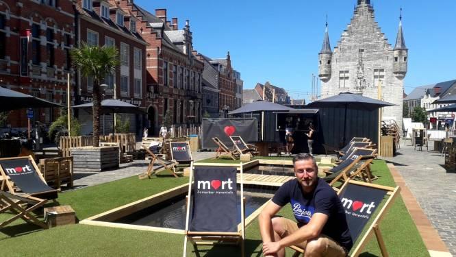 """Zomerbar Mart op Herentalse Grote Markt: """"Kom relaxen in het stadscentrum"""""""