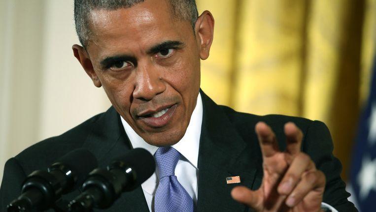 De grote klimaatoverwinning glipte Barack Obama door de handen tijdens zijn eerste termijn. Beeld afp
