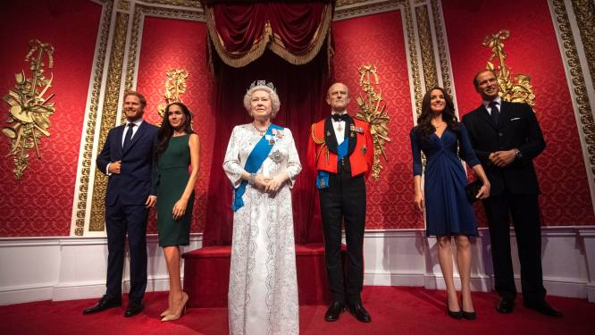 Snelle 'megxit' in Madame Tussauds