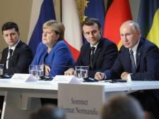 Angela Merkel et Emmanuel Macron appellent au retrait des troupes russes à la frontière ukrainienne