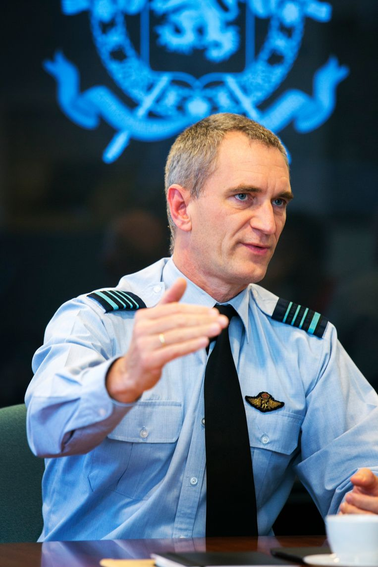 Kolonel Van Pee. Beeld Tim Dirven