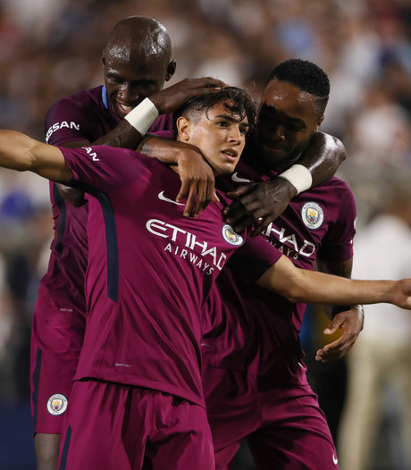 Manchester City walst over Real Madrid heen