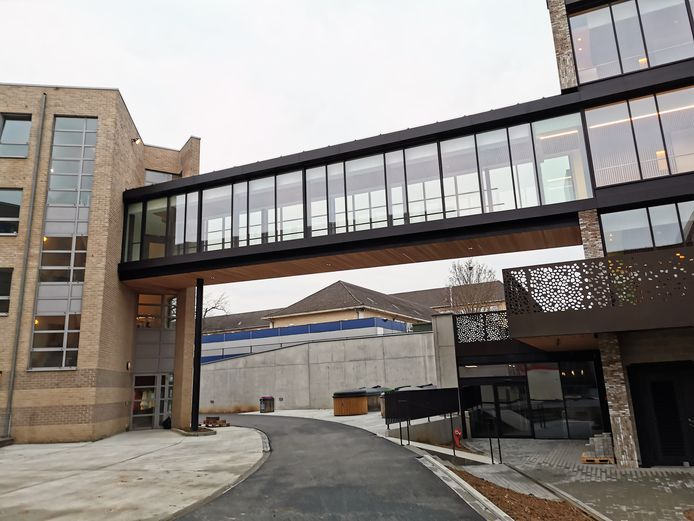 Residentie Huiskensveld sluit aan op de andere voorzieningen op de OCMW-campus in Halle.