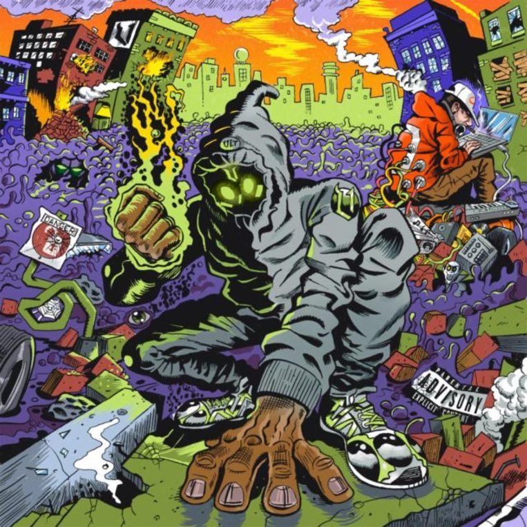'UNLOCKED' van Denzel Curry & Kenny Beats. Beeld RV