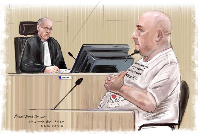 Janie H. in de Bredase rechtbank.