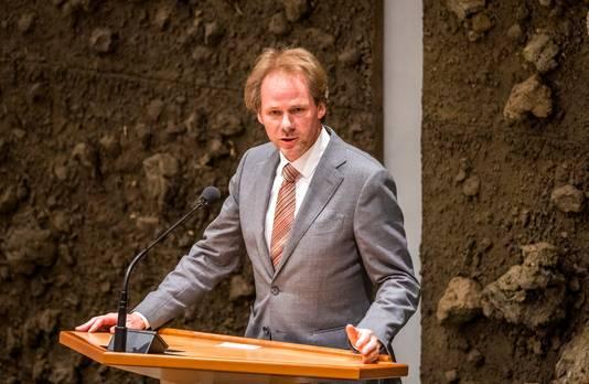 Bart Snels , vorige week nog  in de Tweede Kamer tijdens de Algemene Financiële Beschouwingen.
